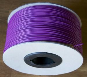 Bobine carton abs optimus violet