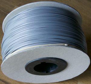 bobine carton abs Aluminium gris Optimus