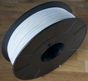 bobine ABS blanc gris RAL 9002